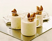 Almond dessert with almond caramel