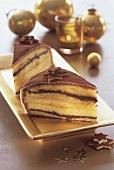 Marzipan cake for Christmas