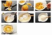 Making orange gratin