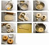 Doughnuts zubereiten
