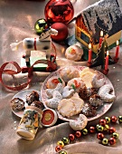 Assorted German Christmas biscuits