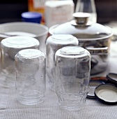 Preserving jars for home-made jam
