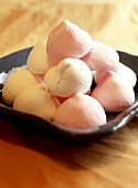 Pink and white marshmallows
