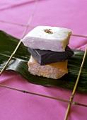 Sapin-Sapin (Philippinische Reisküchlein)