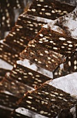 Turron de almendras (Christmas biscuits with almonds, Spain)