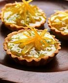 Tartlets with lemon confit