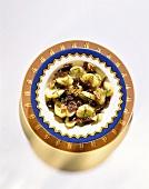 Salade de gésiers (Geflügelmagensalat, Frankreich)