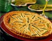 Quiche aux asperges (asparagus quiche, France)