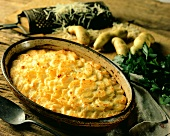 Gratin dauphinois (potato gratin, France)