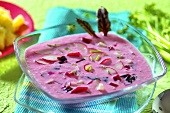 Chlodnik (Cold soup with young beetroot, Poland)