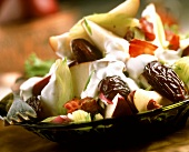 Pear salad with dates and celery