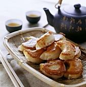 Fried chicken rissoles (Sichuan, China)