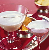 'Golden Cadillac' & 'Alessandro' (drinks with cream)