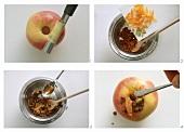 Apfel mit Dörrobstfüllung zubereiten - Hauptaufnahme unter 139700