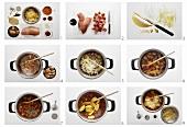 Making Szegedin goulash