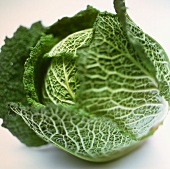 A savoy cabbage