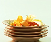 Pappardelle al Prosecco (Ribbon pasta in Prosecco sauce)