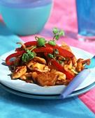 Caribbean style roast chicken
