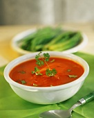 Creamed tomato soup or sauce