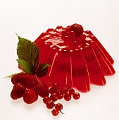 Red raspberry and redcurrant jelly