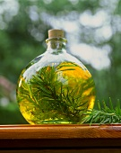 Rosemary oil (oil flavoured with sprigs of rosemary)