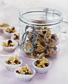 Almond and raisin sweets