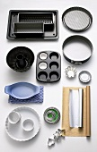 Assorted baking tins