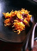 Marrakesh salad with carrots, beetroot and oranges