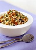 Couscous and pumpkin salad