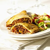 Empanadas with mince filling