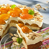 Yoghurt cake with apricots