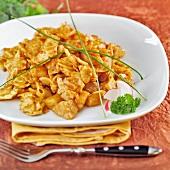 Gránátos kocka (Hungarian pasta dish)