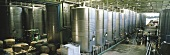 Stainless steel tanks, Carmen Winery, Maipo Valley, Chile