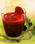 Beetroot and celery drink