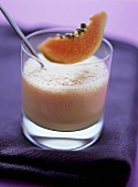 Papaya lassi (papaya and yoghurt drink)