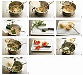 Spinatrisotto zubereiten