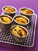 Passion fruit and mango friands (sweet buns)