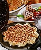 Nut waffles