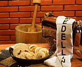 Arepas antioqueñas (small flour tortillas, S. America)