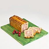 Pate en croute (pate in pastry, France)