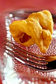 Cooked ham in pastry