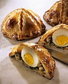 Small filled Easter pies (France)