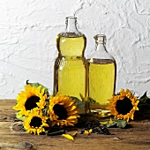 Sunflower oil, sunflowers and sunflower seeds