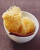 Fine noodles