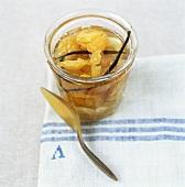 Vanilla chestnuts (bottled chestnuts with vanilla)