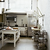 View into a kitchen