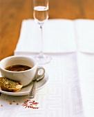 Caffè coretto (Espresso with Grappa, Italy)