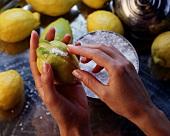 Lemon preserved in salt (Morocco)