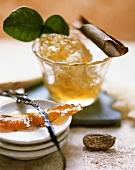 Orange marmalade with nutmeg, vanilla and cinnamon