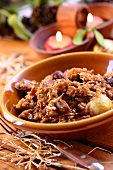 Bigos (meat and cabbage stew, Poland)